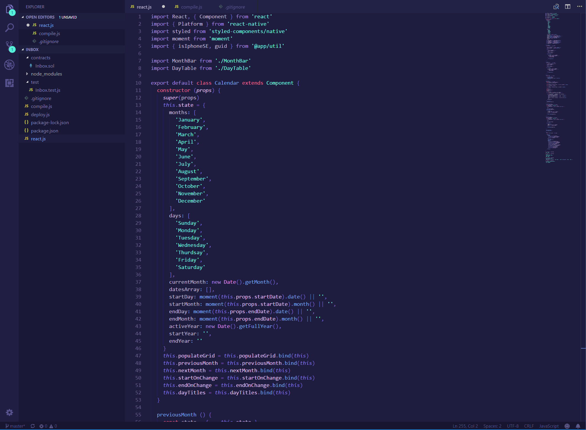 My favorite VS Code themes for September 2018 – Amit